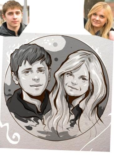 Заказать портрет на годовщину свадьбы в Кишеневе