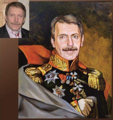 Настоящий портрет маслом на заказ в Кишеневе…