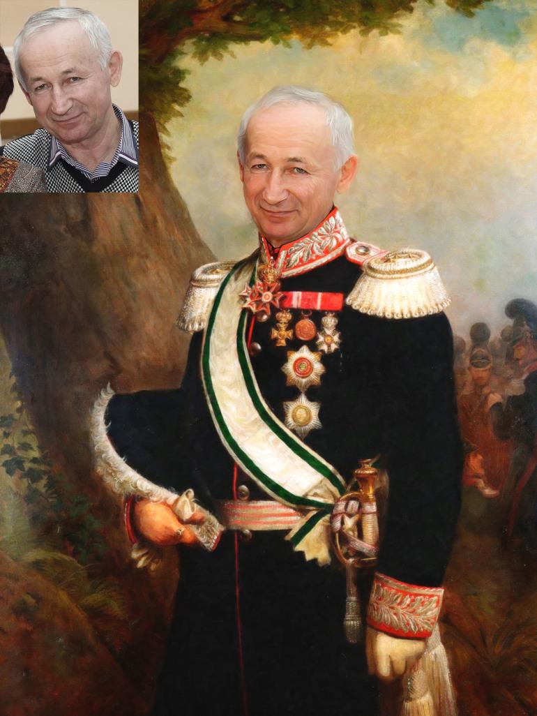 Где заказать исторический портрет по фото на холсте в Кишеневе?