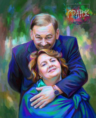 Портрет по фото на холсте Кишенев