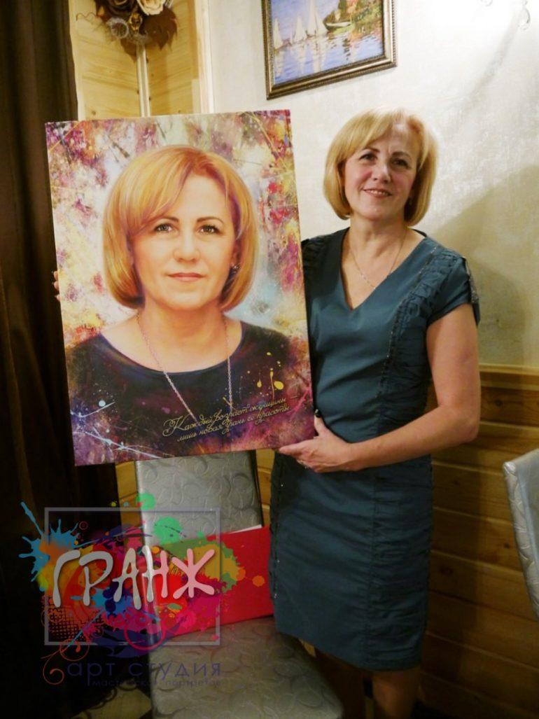 Портрет на заказ Кишенев