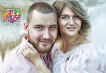 Где заказать портрет по фотографии на холсте в Кишеневе?