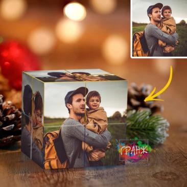 Фотокубик трансформер, купить в подарок Кишинев